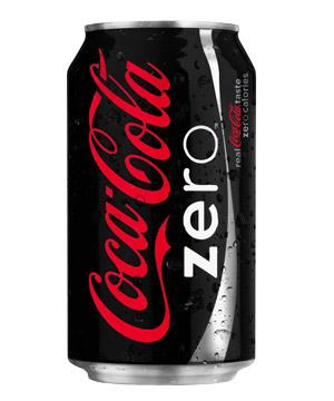 Resultado de imagem para Coca Zero