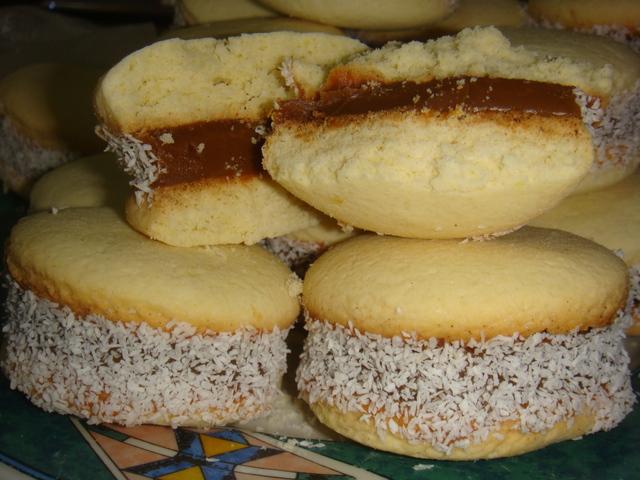 no méxico se comem alfajores de coco alfajores com recheio de geléia ...